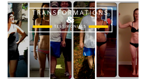 Transformations And Testimonials